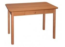Jídelní stůl se zásuvkou 90x60 - SR01, buk, olše