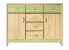 Komoda CD3 green