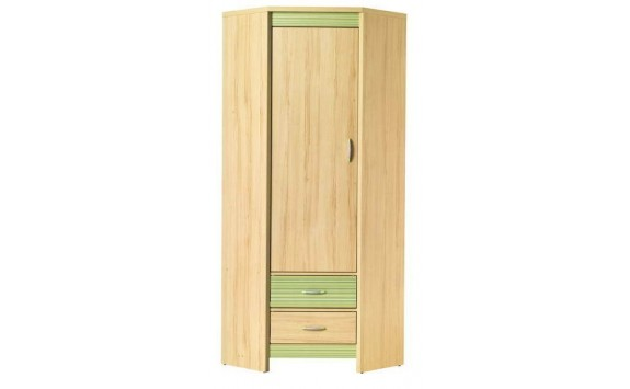 Rohová skříň CD10 green