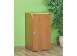 Skříňka policová s dveřmi Miki-03, olše