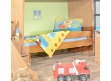 Zábrana na postel 200 cm Miki 46, olše