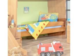 Zábrana na postel 125 cm Miki 48, olše