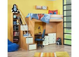 Patrová postel - horní spaní Miki 2020, olše
