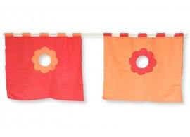 Textilní domeček boční k posteli D238-OC - Domino