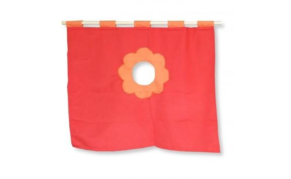 Textilní domeček 5, čelní - ke zvýšeným postelím D238-C - Domino