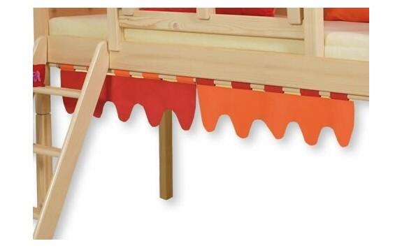 Textilní vlnky boční D240 OC - Domino