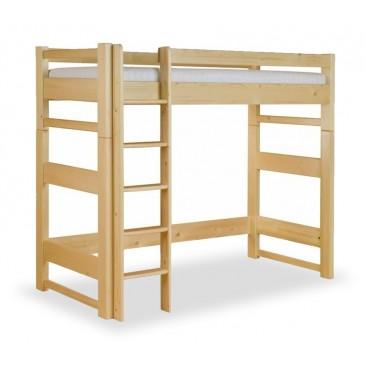 Patrová postel - horní spaní LUCAS, masiv smrk
