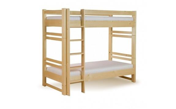 Dětská poschoďová postel - palanda rozkládací LUCAS, masiv smrk