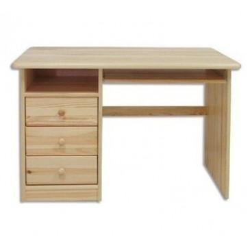 Psací PC stůl pracovní- DREW-103, masiv borovice