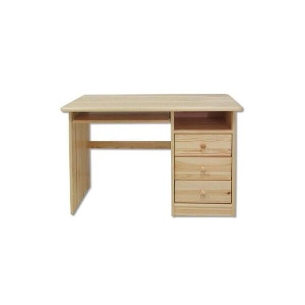 Psací PC stůl pracovní- DREW-106, masiv borovice