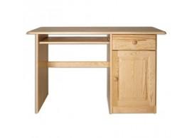 Psací PC stůl - DREW-109, masiv borovice