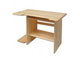 Psací PC stůl - DREW-110, masiv borovice