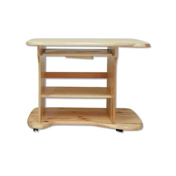Psací PC stůl - DREW-113, masiv borovice
