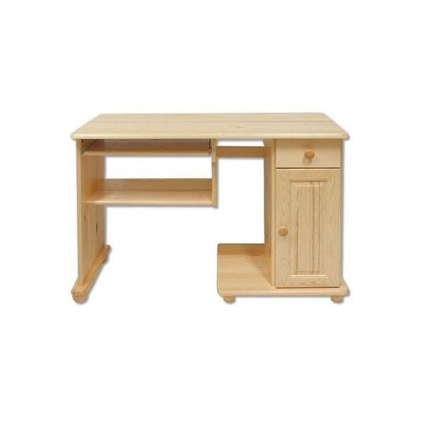Psací PC stůl DREW-114, masiv borovice