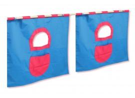 Textilní domeček 5 boční - ke zvýšeným postelím DOMINO - TM