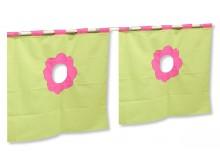 Textilní domeček 5 boční - ke zvýšeným postelím DOMINO - RZ