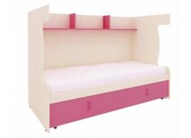 Rám pro patrovou postel s přistýlkou MIA-48