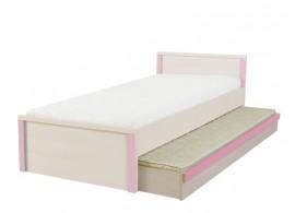 Úložný prostor - přistýlka pod postel LOZ/85D, dub-růžová