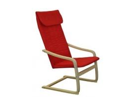 Relaxační pohupovací křeslo IAK51, červené