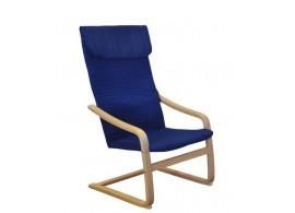 Relaxační pohupovací křeslo IAK52, modré