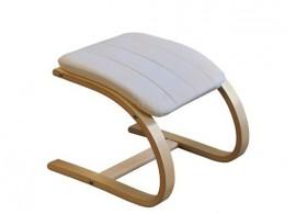 Dětská židlička Pupi - červená N217-NATUR
