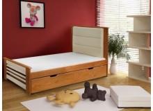 Dětská postel s úložným prostorem AMÉLIE, masiv borovice