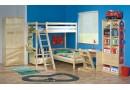 Dětská patrová postel elko KALIMERO-2071/R, masiv smrk
