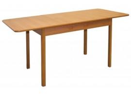 Rozkládací jídelní stůl Teodor, masiv/lamino, 110x70 cm