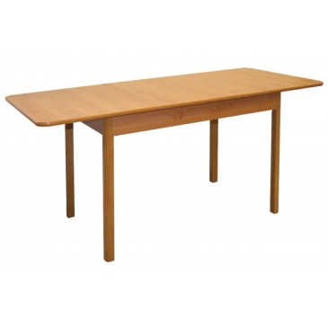 Rozkládací jídelní stůl 160x70 - SR05, buk, olše