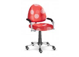 Dětská-studenstská rostoucí židle Freaky 2436 se vzorem - červená 26091