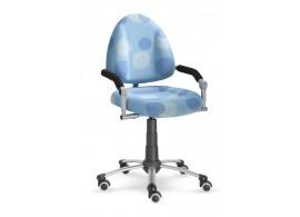 Dětská-studenstská rostoucí židle Freaky 2436 se vzorem - modrá 26092