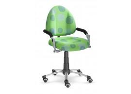 Dětská-studenstská rostoucí židle Freaky 2436 se vzorem - zelená 26093