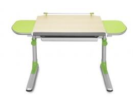 Rostoucí psací stůl PROFI, javor - zelená
