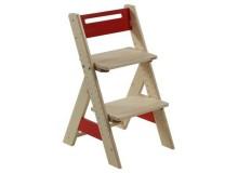 Dětská rostoucí židle ZUZU J0565C, červená