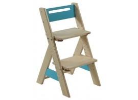 Dětská rostoucí židle ZUZU J0565B, modrá