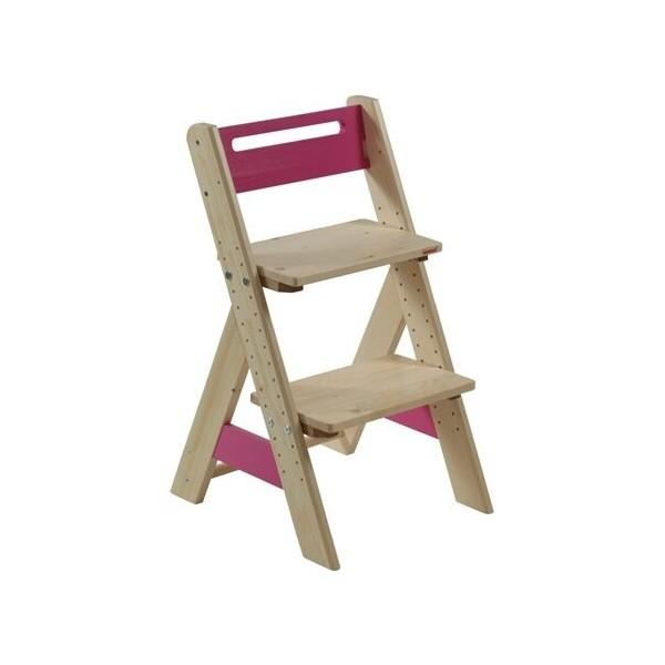 Dětská rostoucí židle ZUZU J0565G, růžová