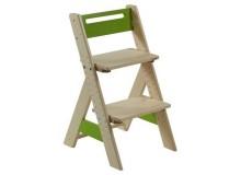 Dětská rostoucí židle ZUZU J0565E, zelená