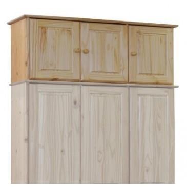 Nástavec na skříň IA8864, masiv borovice