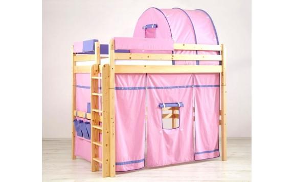 Patrová postel - horní spaní KALIMERO-342/RM, masiv smrk