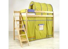 Patrová postel - horní spaní 90x200 K75/ZM - PEDRO, masiv smrk