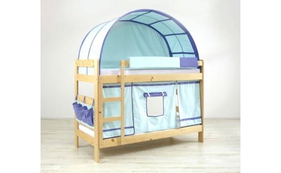 Poschoďová postel pro dvě děti TAŤKA s roštem K52/SZM-PEDRO