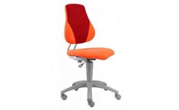 Dětská rostoucí židle FUXO, oranžovo-červená