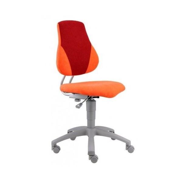 Image of Dětská rostoucí židle FUXO, oranžovo-červená