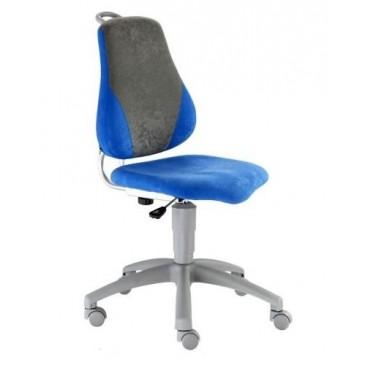 Dětská rostoucí židle FUXO, modro-šedá