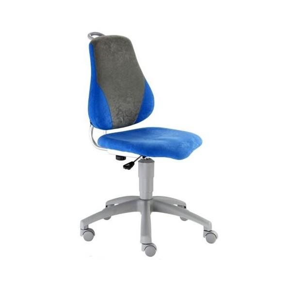 Image of Dětská rostoucí židle FUXO, modro-šedá