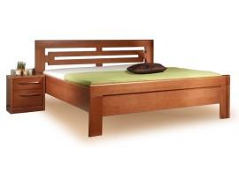 Zvýšená postel - dvoulůžko ARLETA 2 senior 160x200, 180x200, masiv buk