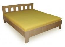 Manželská postel - dvoulůžko MALAGA 160x200, 180x200