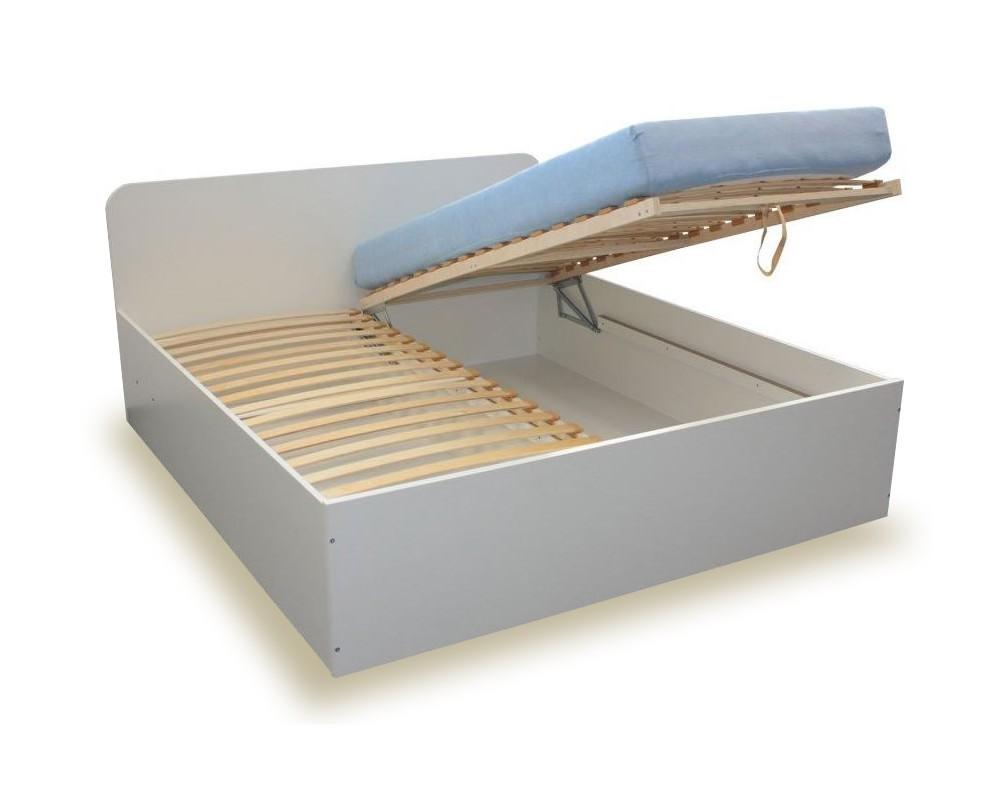 919482063e4aa Manželská postel s úložným prostorem, čelní výklop OTO 160x200, 180x200