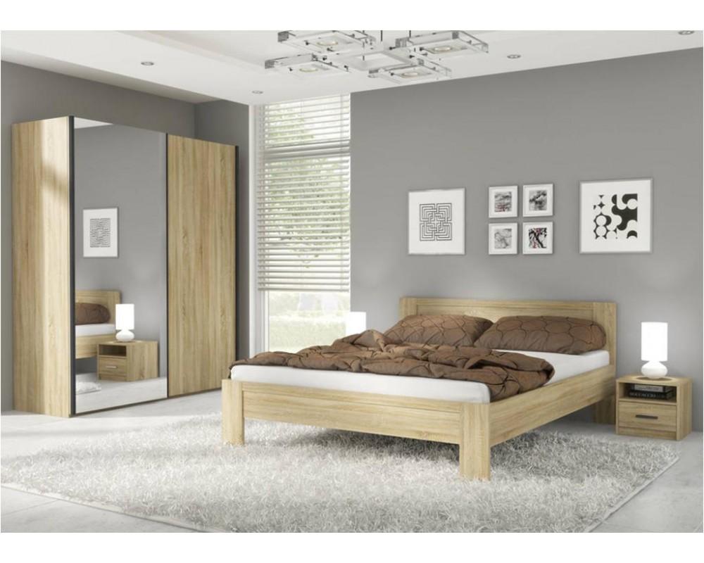 Ložnice - sestava King 180x200, dub Sonoma