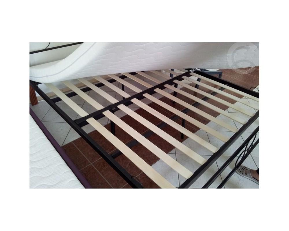 2f2098192fe5 Manželská kovová postel DENVER 160x200  Manželská kovová postel DENVER  160x200